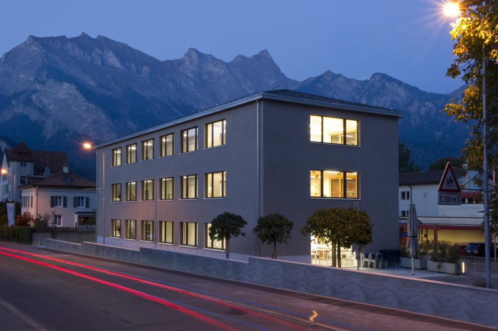 Neubau Schulgebäude Bad Ragaz