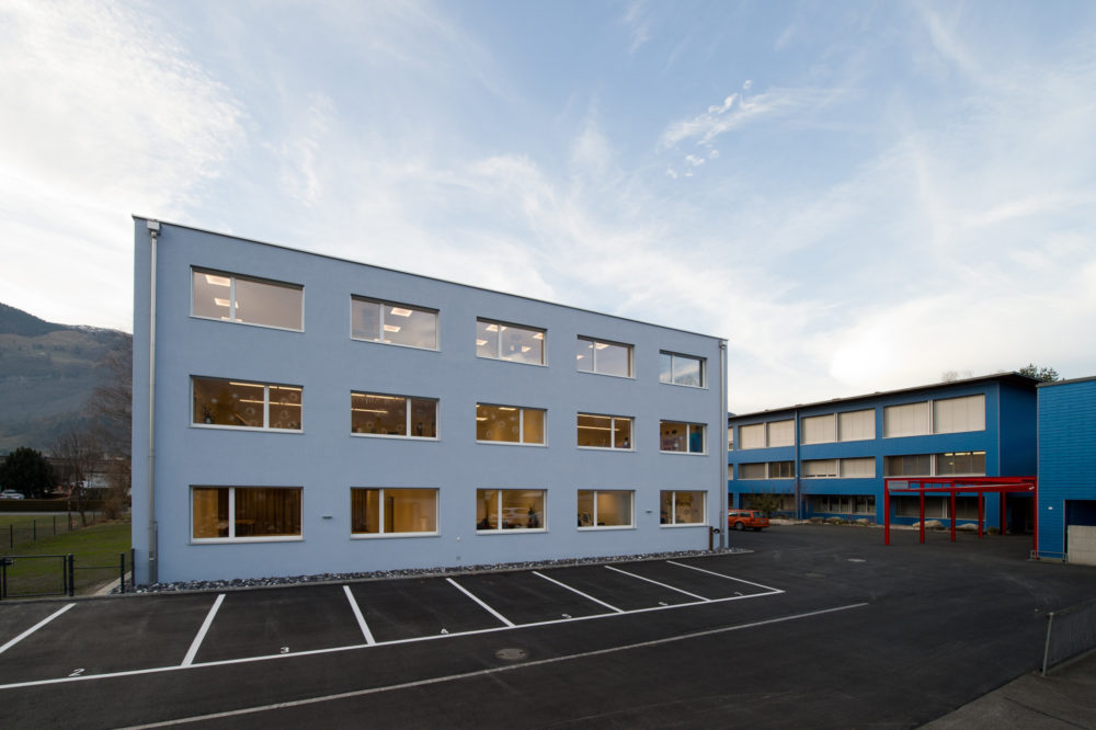 Erweiterung Heilpädagogische Tagesschule Seidenbaum Trübbach