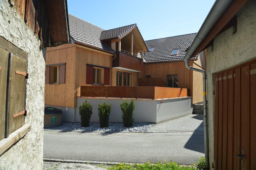 Neubau MFH Alte Schreinerei Azmoos