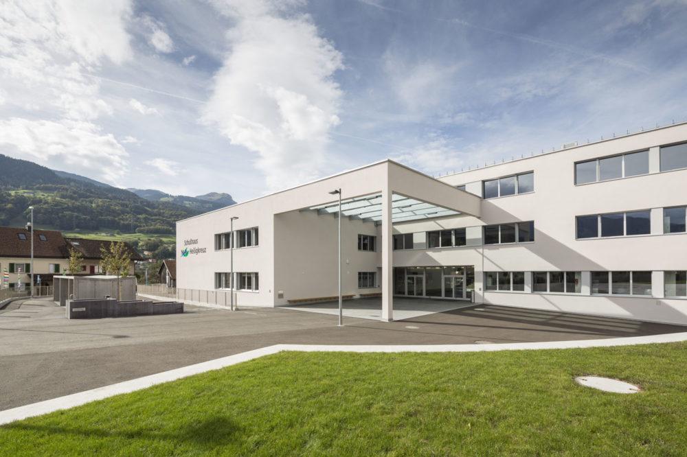 Vorprojektstudie Neubau Schulhaus Heiligkreuz