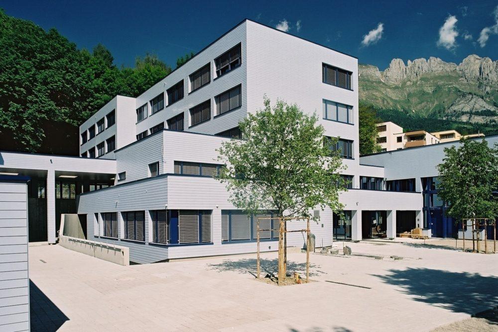 Sanierung und Erweiterung Oberstufenzentrum Widem Gams
