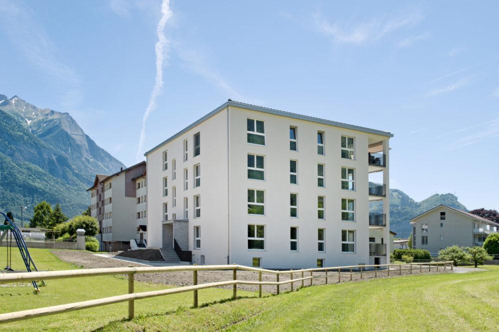 Neubau MFH Dornau Trübbach