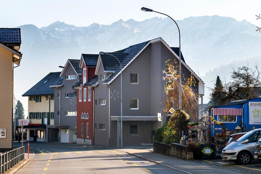 Neubau MFH-Überbauung in Grabs